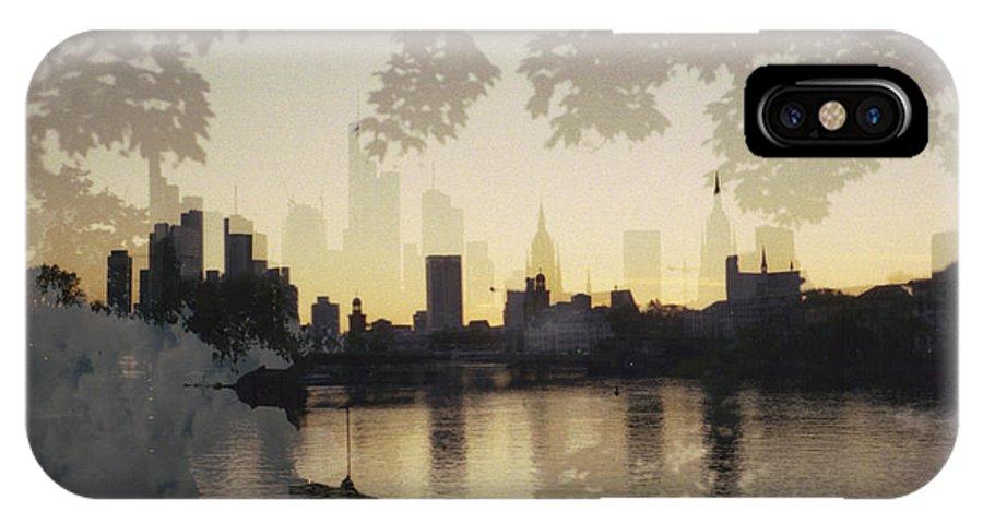Photo IPhone X Case featuring the photograph Frankfurt Am Main by Juan Bosco