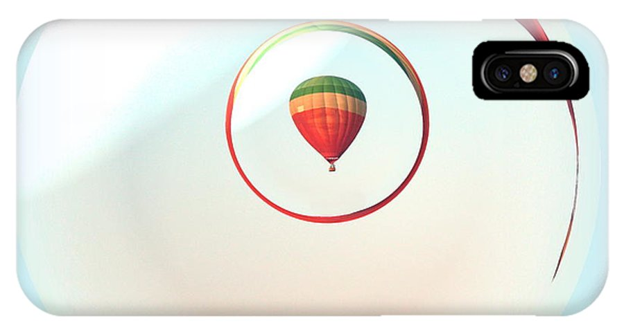 IPhone X Case featuring the photograph Freedom Of The Open Sky by Renee Trenholm