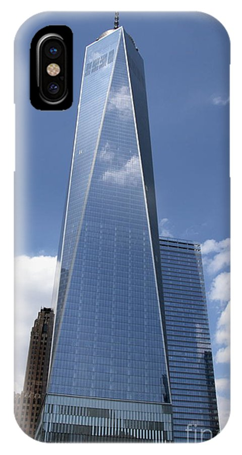 Freedom Tower IPhone X / XS Case featuring the photograph Freedom Tower by Linda C Johnson