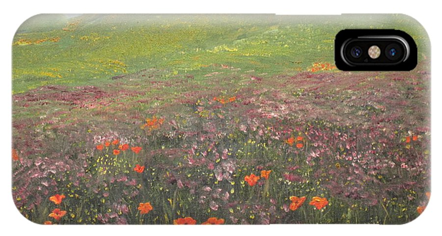 Landscape IPhone Case featuring the painting French Countryside by Barbara McDevitt