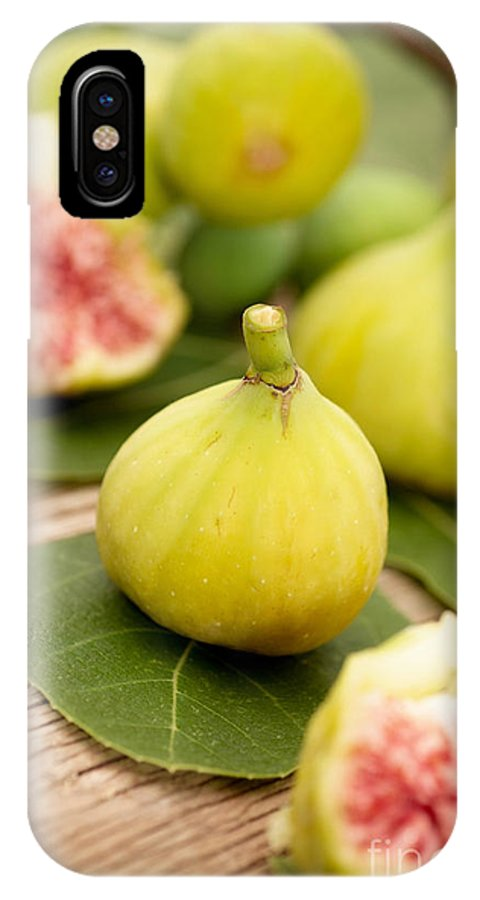 Delicious IPhone X Case featuring the photograph Fresh Figs by Viktor Pravdica