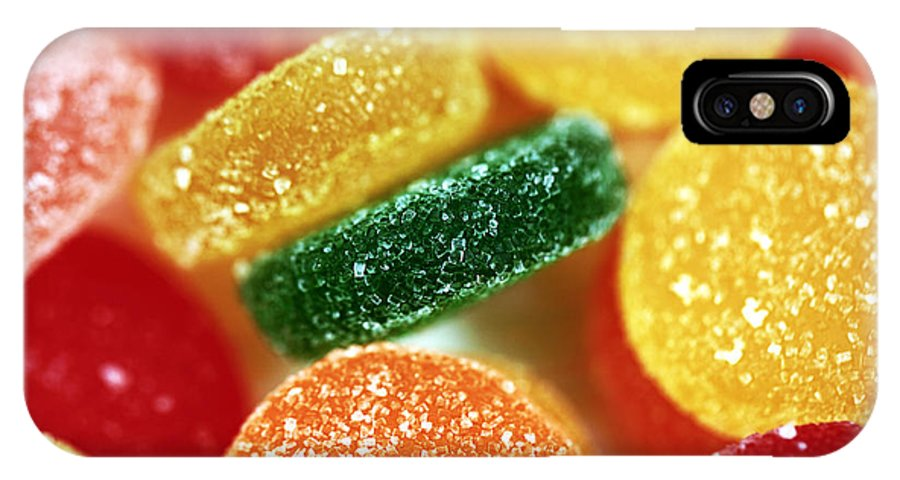Fruit Candy IPhone X Case featuring the photograph Fruit Candy by John Rizzuto