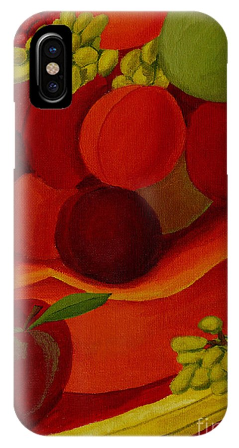 Fruit IPhone Case featuring the painting Fruit-still Life by Anthony Dunphy
