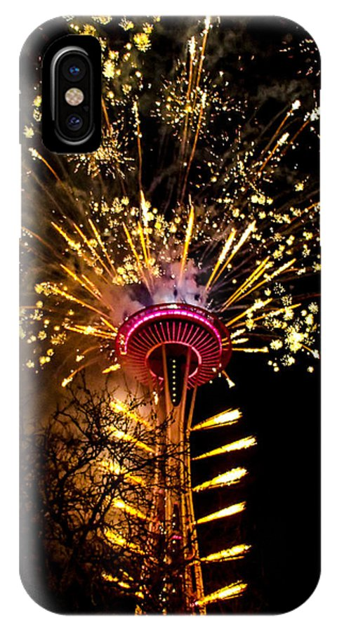 Seattle IPhone X Case featuring the photograph Full Glory by Angus Hooper Iii
