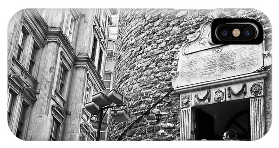 Istanbul IPhone X Case featuring the photograph Galata Tower Entry 02 by Rick Piper Photography