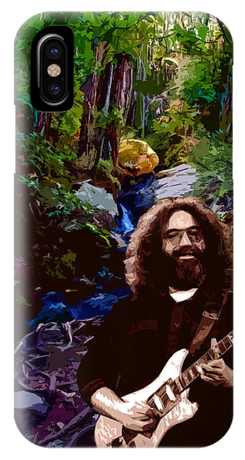 Jerry Garcia IPhone X Case featuring the photograph Garcia On Tam 3 by Ben Upham III