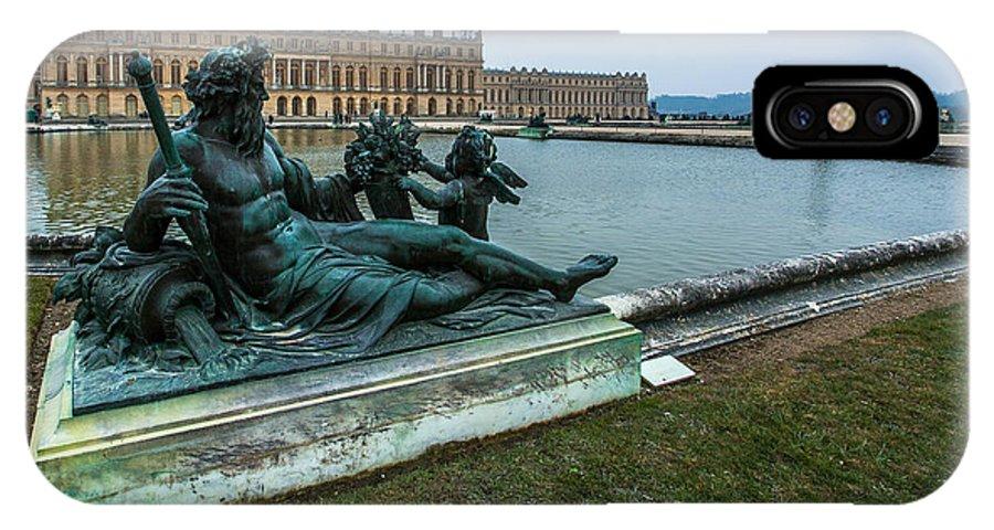 Garden Of Versailles Paris France IPhone X Case featuring the photograph Garden Of Versailles by Alex Zabo