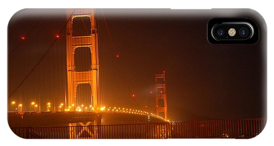 Bridge IPhone X Case featuring the photograph Gateway by Shauna Fackler