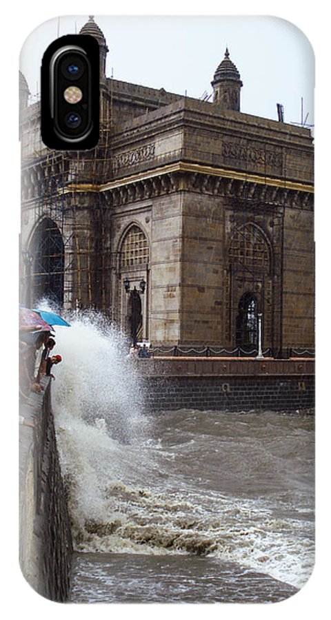 India IPhone X Case featuring the photograph Gateway To India by Michael Kane