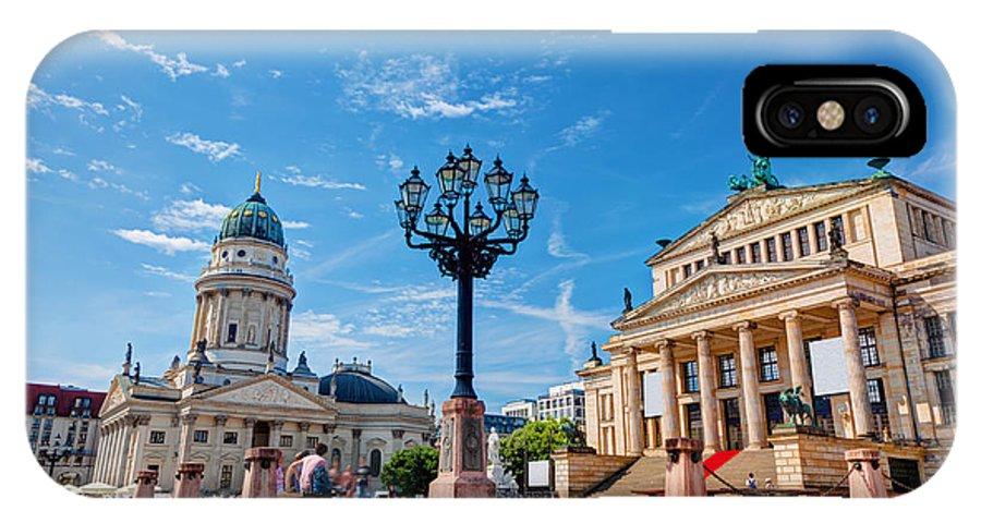 Gendarmenmarkt IPhone X Case featuring the photograph Gendarmenmarkt In Berlin Germany by Michal Bednarek