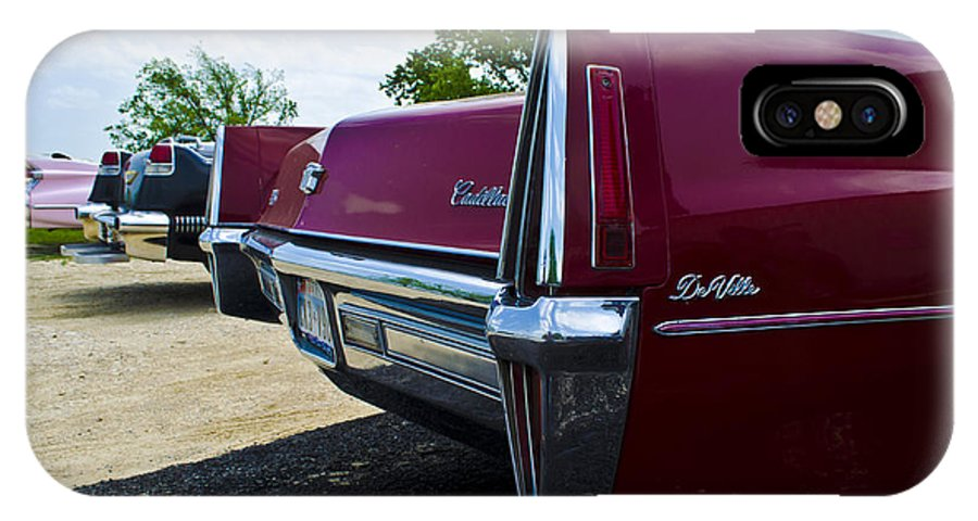 Cadillac IPhone X Case featuring the photograph Generations by Hilton Barlow