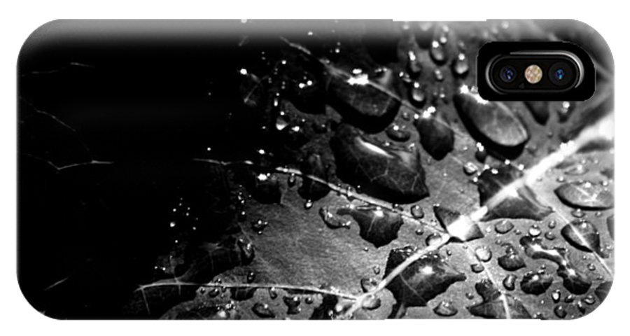 Rain Drops IPhone X Case featuring the photograph Generous Hands by The Artist Project