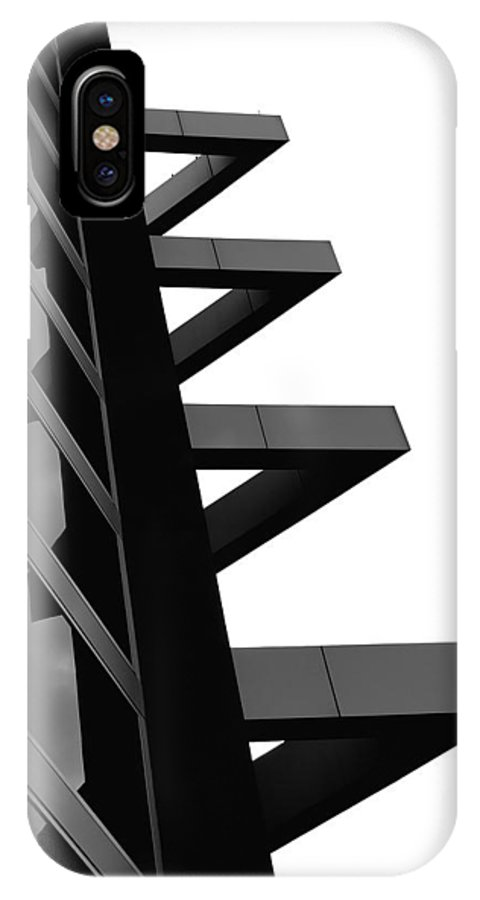 Buildings IPhone X Case featuring the photograph Geometrized by Steven Milner