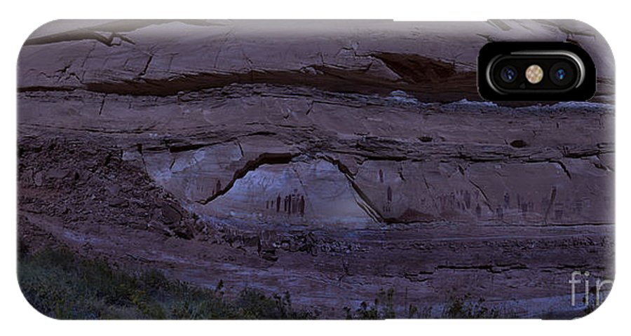 Canyonlands IPhone X Case featuring the photograph Ghosts In The Moonlight by Randy Brown