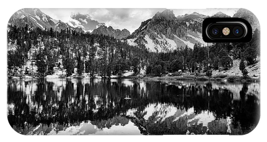 Lake IPhone X Case featuring the photograph Gilbert Lake And University Peak by Cat Connor