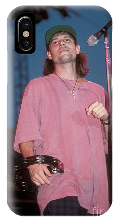 Performing IPhone X Case featuring the photograph Gin Blossoms by Concert Photos