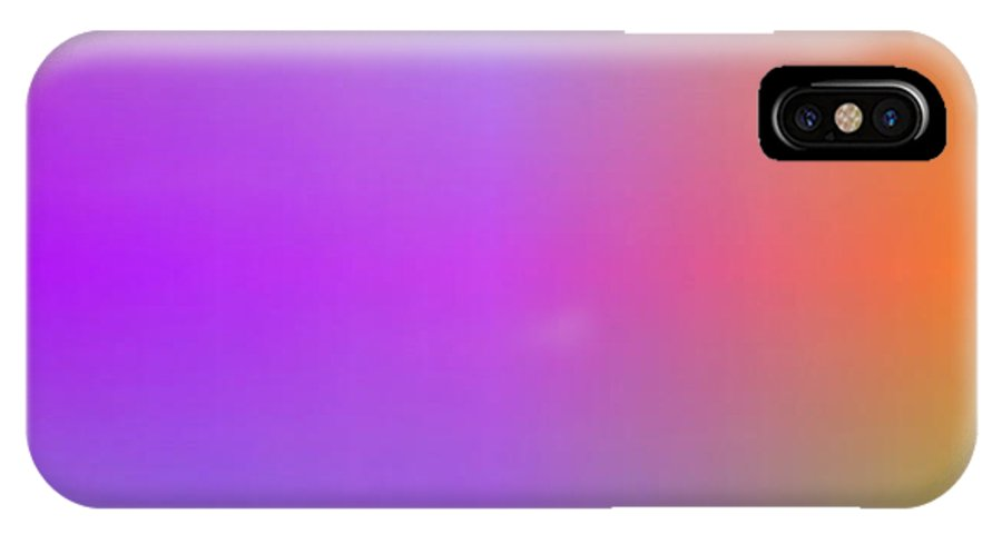 Digital Art By Alicia Sotomayor From Ecuador IPhone X Case featuring the digital art Give Me More Light by Alicia Sotomayor