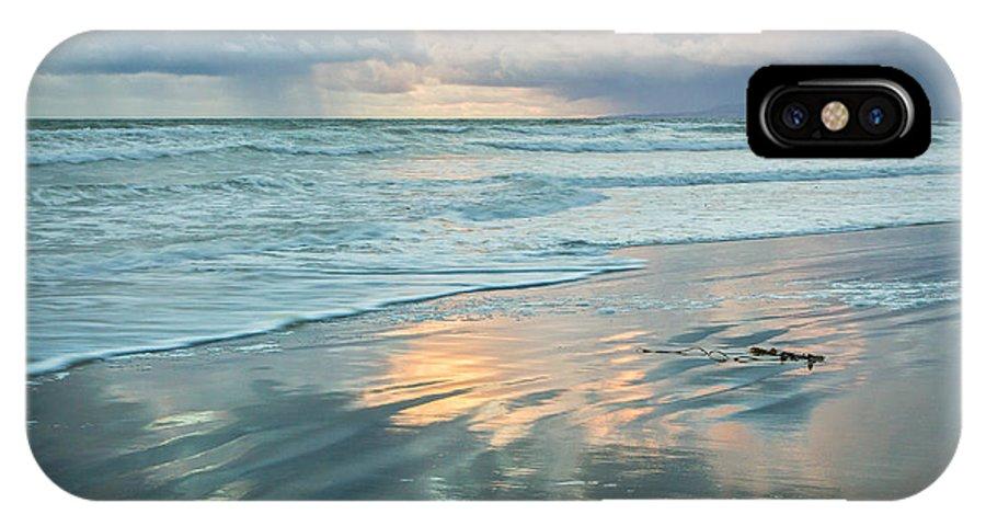 Huntington Beach IPhone X Case featuring the photograph Glassy Beach by Tuan Le