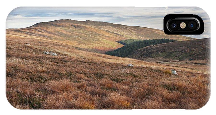 Glenmacnass IPhone X Case featuring the photograph Glenmacnass 4 by Michael David Murphy