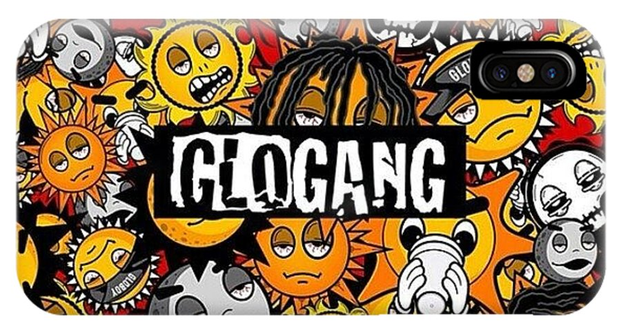 Glo gang iphone x xs case for sale by takeya beard glo gang iphone x xs case featuring the photograph glo gang by takeya beard publicscrutiny Images