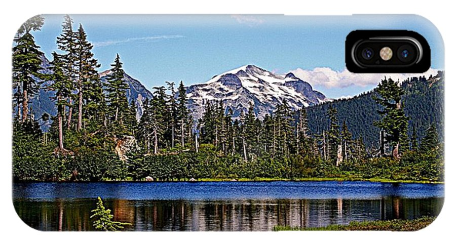 Mountains IPhone X Case featuring the photograph Goat Mountain by Lynn Bawden