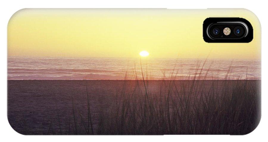California IPhone X Case featuring the photograph Gold Beach Sunset by Susan Rovira