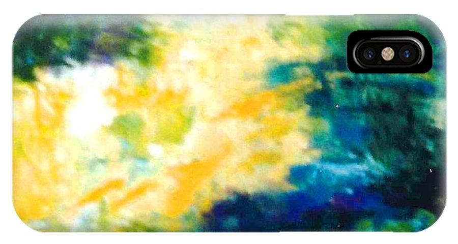 Lyle IPhone X Case featuring the painting Gold Fish II by Lord Frederick Lyle Morris - Disabled Veteran