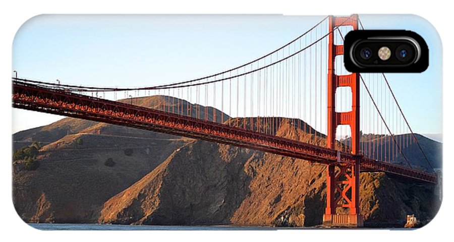 Bridge IPhone X Case featuring the photograph Golden Opportunity by Sharon Wunder Photography