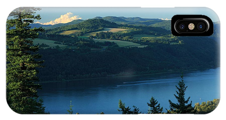 Columbia Gorge IPhone X Case featuring the photograph Gorgeous Columbia Gorge by Teresa Herlinger