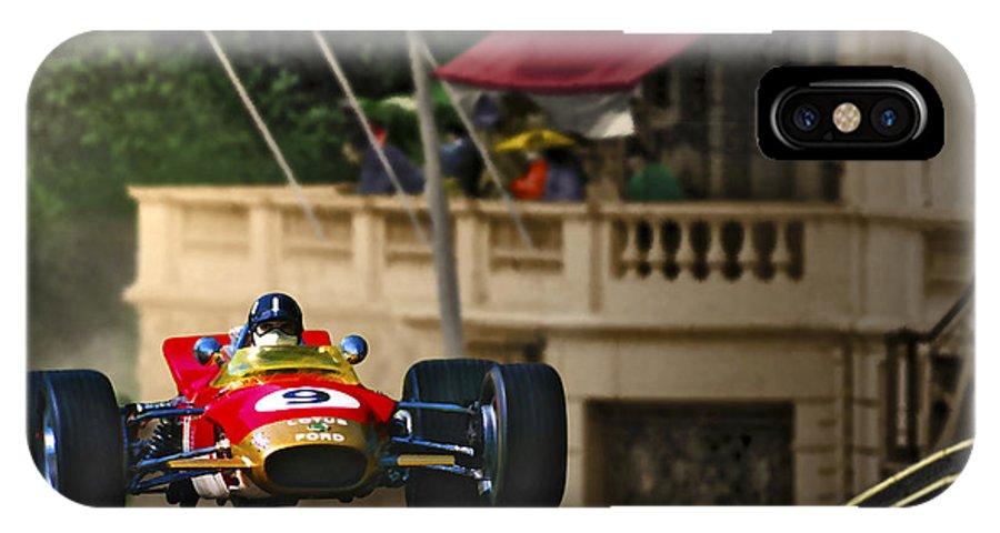 Monaco IPhone X / XS Case featuring the photograph Graham's Monaco 1968 by Craig Purdie