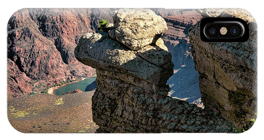 Az IPhone X Case featuring the photograph Grand Canyon. Az by Jennie Breeze