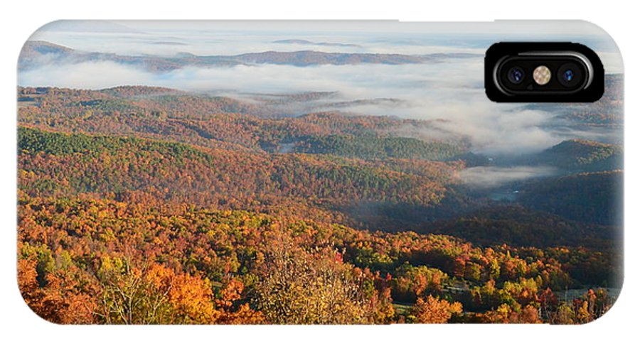 Ozark Mountains IPhone X Case featuring the photograph Grand Canyon Of Arkansas by Deanna Cagle