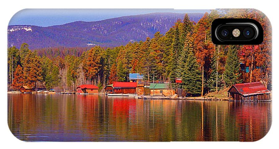 Grand Lake Co IPhone X Case featuring the photograph Grand Lake Spring IIi by Jacqueline Russell