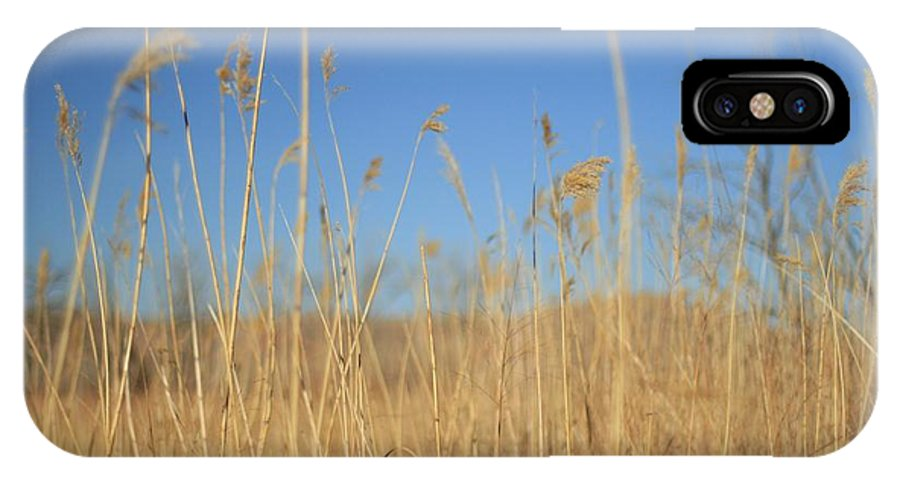 Texas IPhone X Case featuring the photograph Grass In Motion by Ashley M Conger