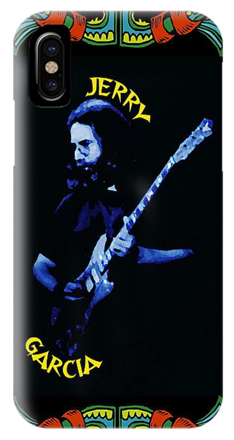 Grateful Dead IPhone X Case featuring the photograph Grateful For Jerry by Ben Upham