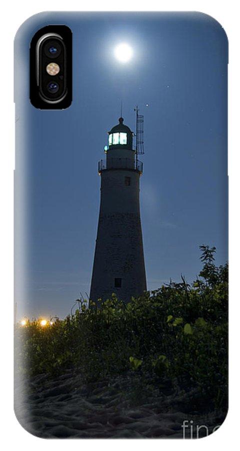 Ft Gratiot Lighthouse IPhone X Case featuring the photograph Gratiot Light by Michael Petrick