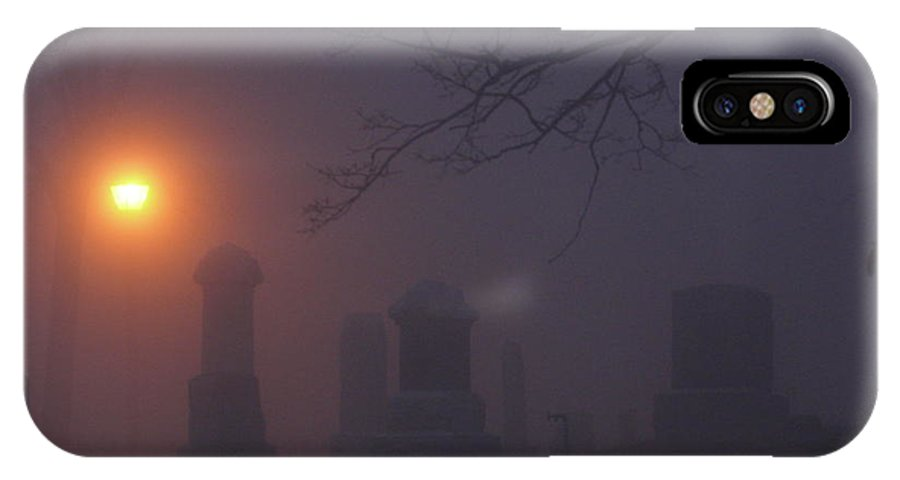 Grave Yard IPhone X Case featuring the photograph Graveyard by Steven Woodard