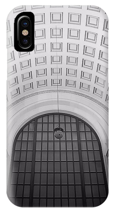 Great Hall IPhone X Case featuring the photograph Great Hall by Jenny Hudson