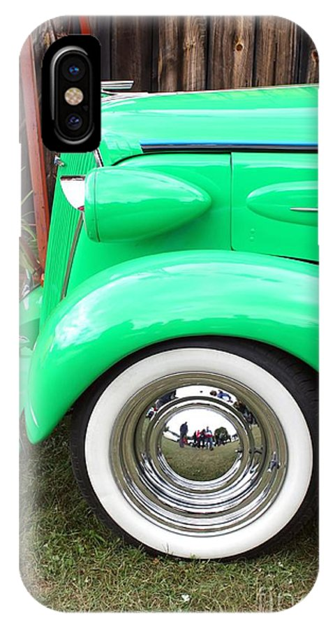 Car IPhone X Case featuring the photograph Green With Envy by Sophie Vigneault