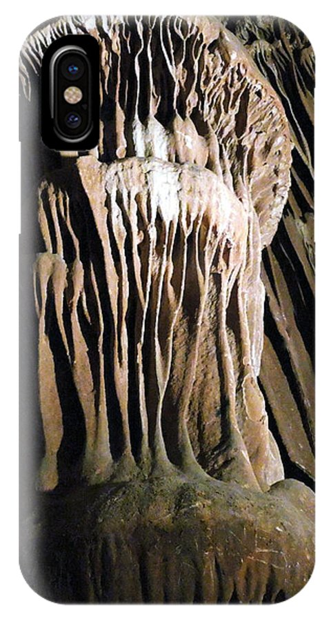 Colette IPhone X Case featuring the photograph Grotte Magdaleine South France by Colette V Hera Guggenheim