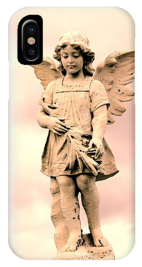 Guardian IPhone X Case featuring the photograph Guardian Angel by Sophie Vigneault