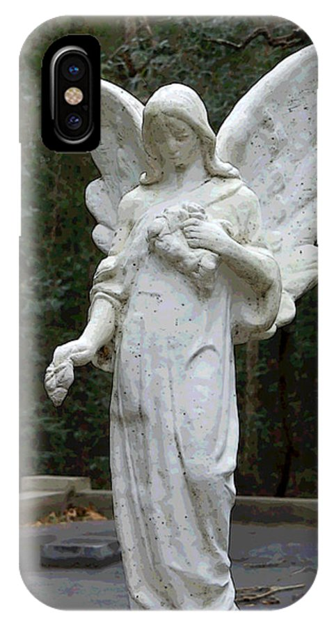 Angel IPhone Case featuring the photograph Guardian by Suzanne Gaff