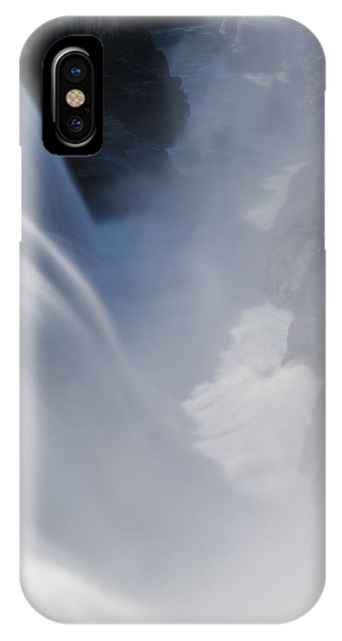 Iceland IPhone X Case featuring the photograph Gullfoss No 1 by Andy-Kim Moeller