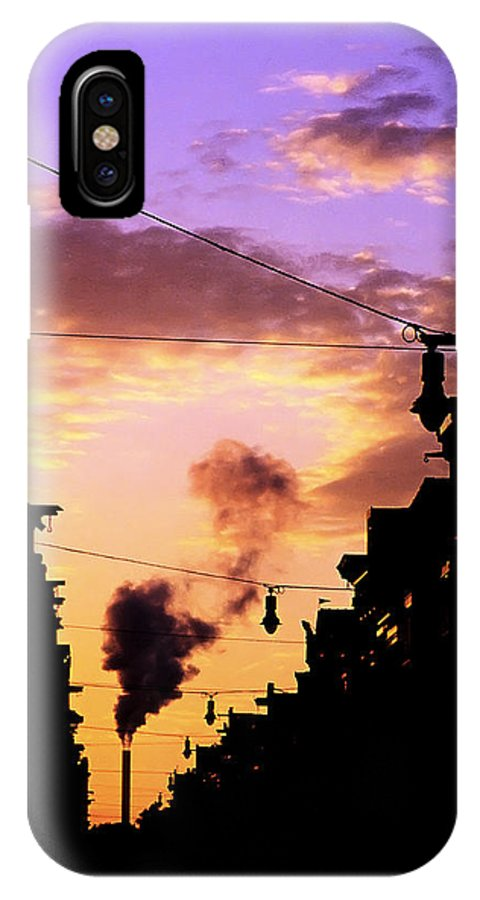 Haarlemmerstraat IPhone X Case featuring the photograph Haarlemmerstraat by Fabrizio Troiani