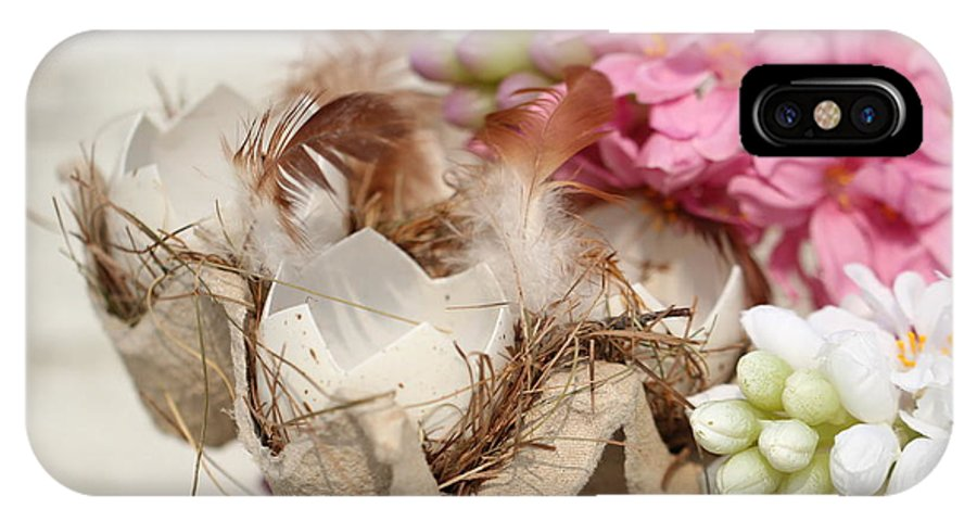 Happy Easter IPhone X Case featuring the photograph Happy Easter by Heike Hultsch