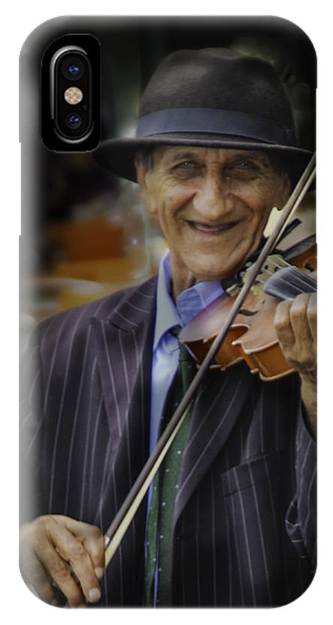 IPhone X Case featuring the photograph Happy by Joseph Harper