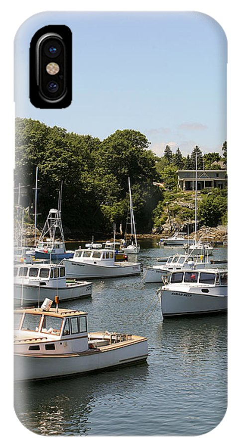 Algonquin IPhone X Case featuring the photograph Harbor Views by Eric Swan