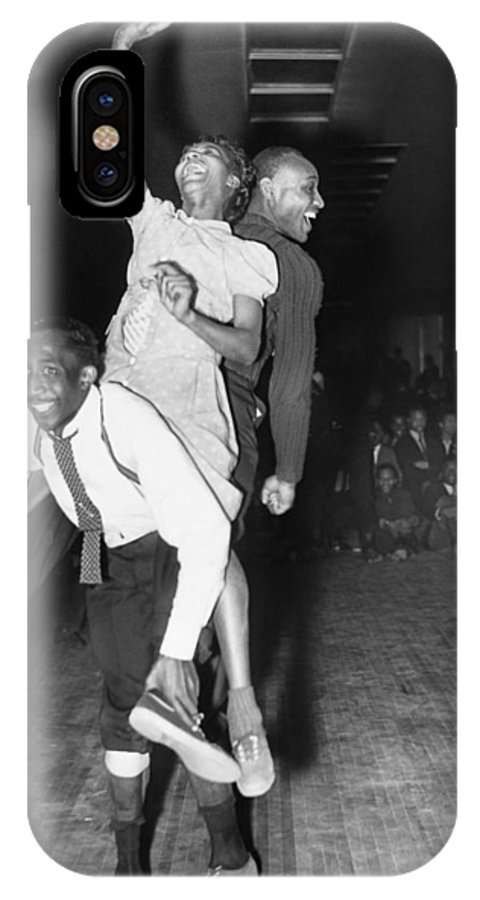 1941 IPhone X Case featuring the photograph Harlem Dancers, 1941 by Granger
