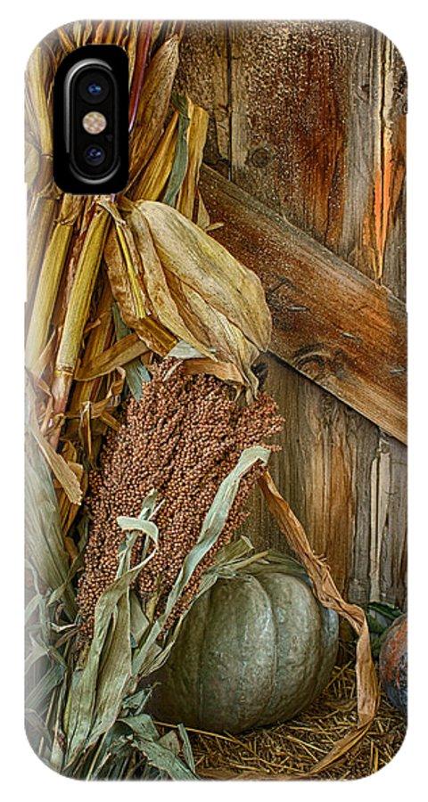 Harvest Corner IPhone X Case featuring the photograph Harvest Corner by Nikolyn McDonald