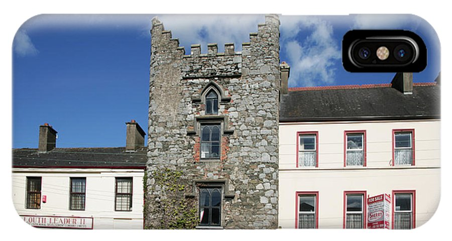 Europe IPhone X Case featuring the photograph Hatch's Castle Ardee Ireland by Ros Drinkwater